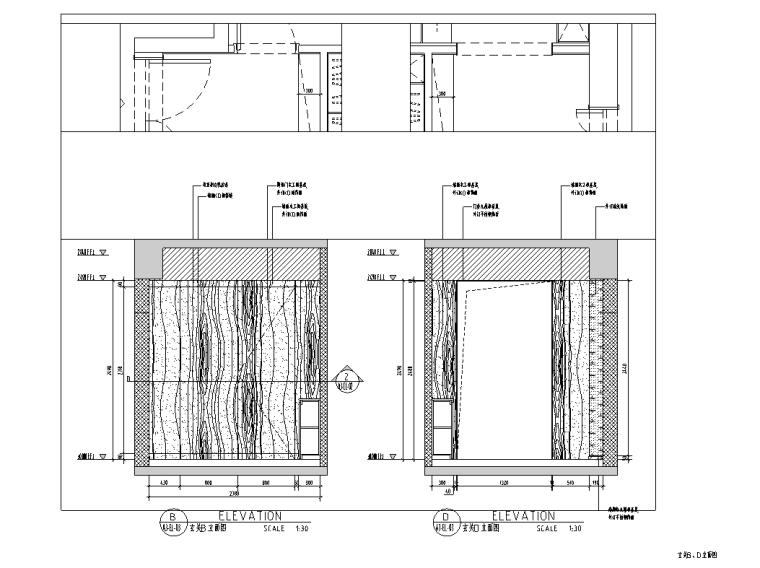 [浙江]杭州220m²现代极简样板间施工图_3D_10