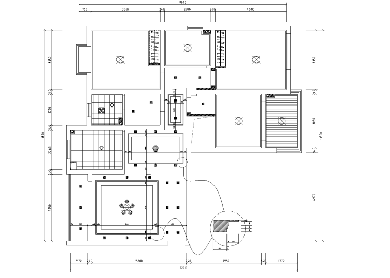 [浙江]温州渔巷花园二层阁楼住宅设计施工图_5