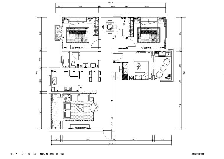 [浙江]温州渔巷花园二层阁楼住宅设计施工图_2