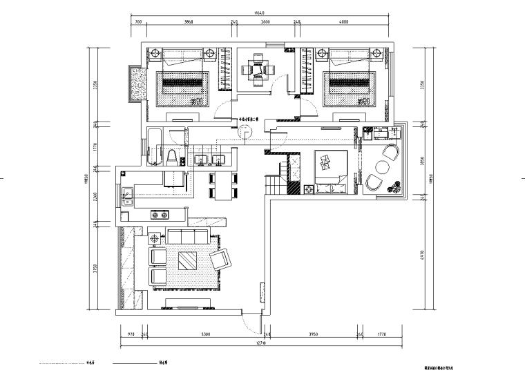 [浙江]温州渔巷花园二层阁楼住宅设计施工图_3