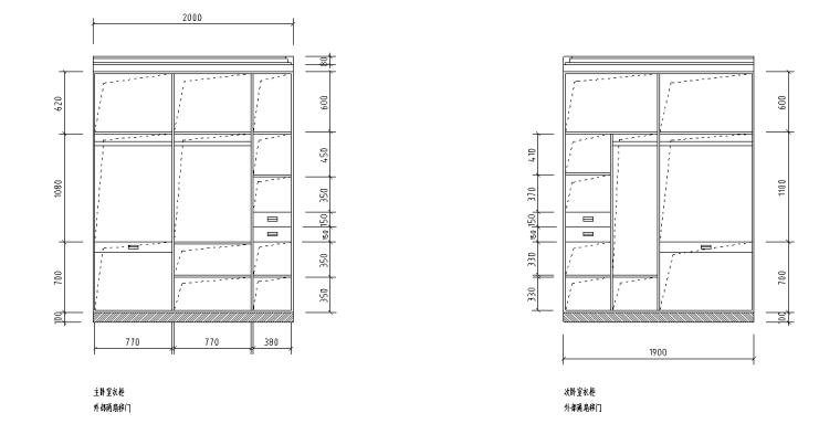[浙江]温州渔巷花园二层阁楼住宅设计施工图_8