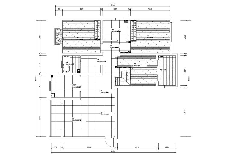 [浙江]温州渔巷花园二层阁楼住宅设计施工图_1