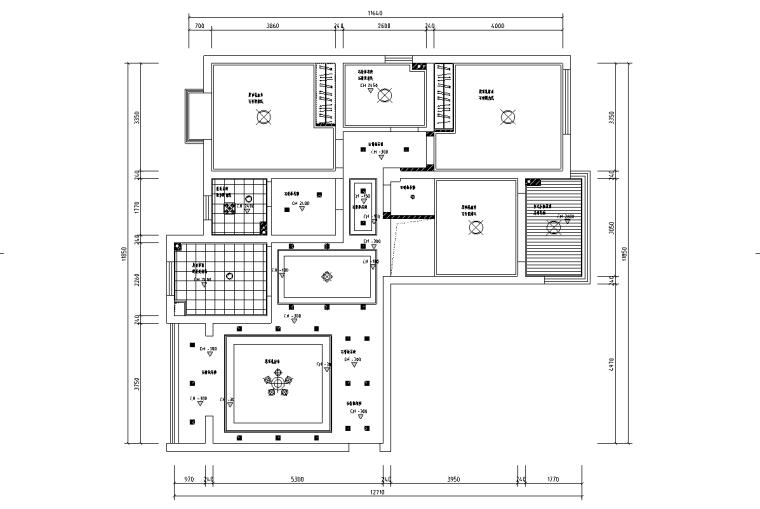 [浙江]温州渔巷花园二层阁楼住宅设计施工图_4