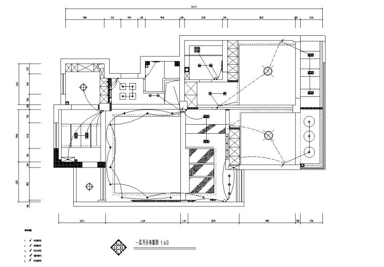 [辽宁]沈阳现代二层三居室住宅设计施工图_5