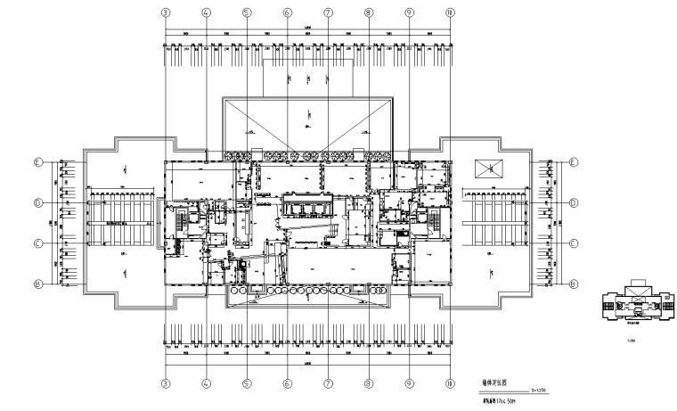 [上海]虹桥1765M²办公室设计施工图_效果图_1