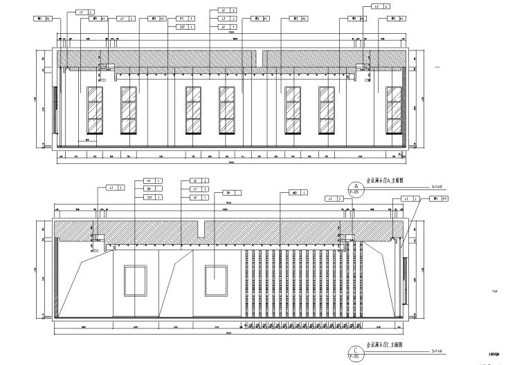 [上海]虹桥1765M²办公室设计施工图_效果图_10