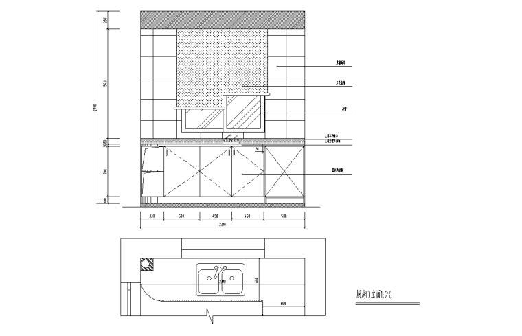 [辽宁]沈阳现代二层三居室住宅设计施工图_6