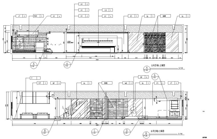 [上海]虹桥1765M²办公室设计施工图_效果图_8