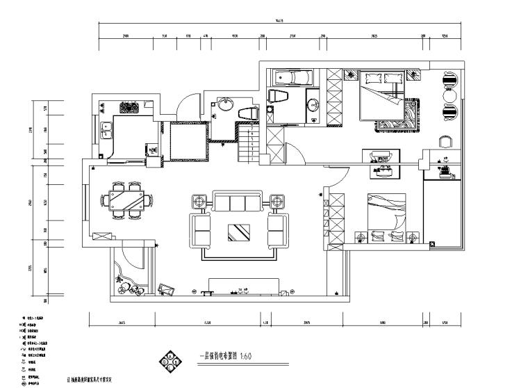 [辽宁]沈阳现代二层三居室住宅设计施工图_4