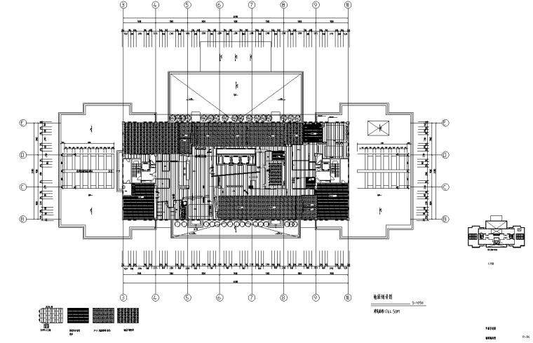 [上海]虹桥1765M²办公室设计施工图_效果图_3
