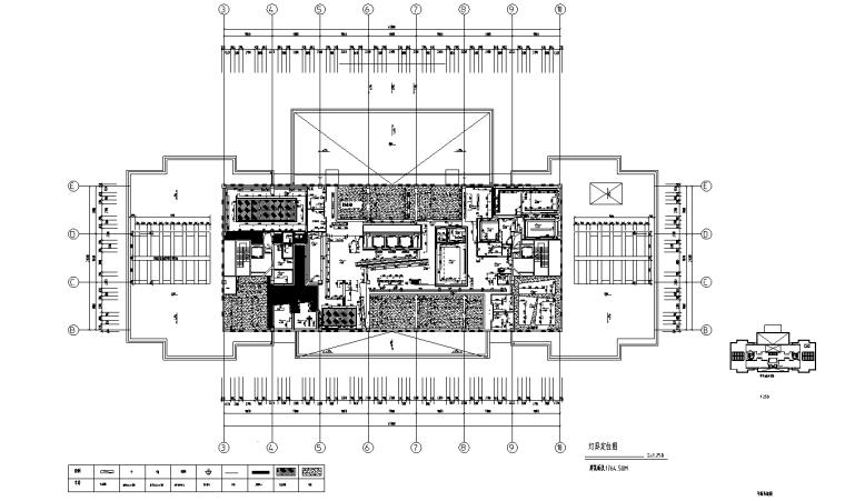 [上海]虹桥1765M²办公室设计施工图_效果图_7