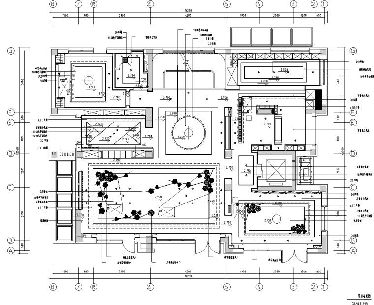 [北京]750㎡中式四层五居住宅施工图_效果图_2