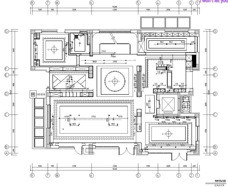 [北京]750㎡中式四层五居住宅施工图_效果图_4