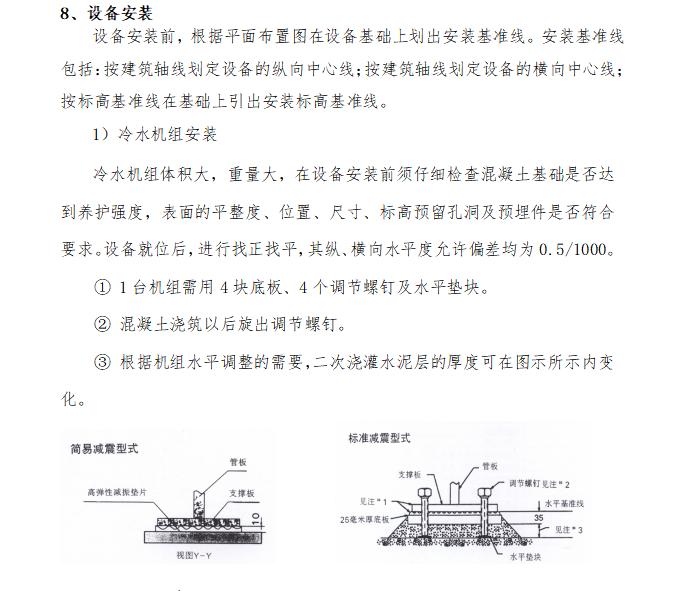 中铁_地源热泵系统及机房施工方案66页_8