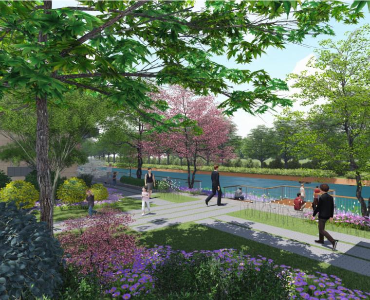 """""""纯林社区""""中式住宅景观方案深化设计-景观总平面—方案阶段"""