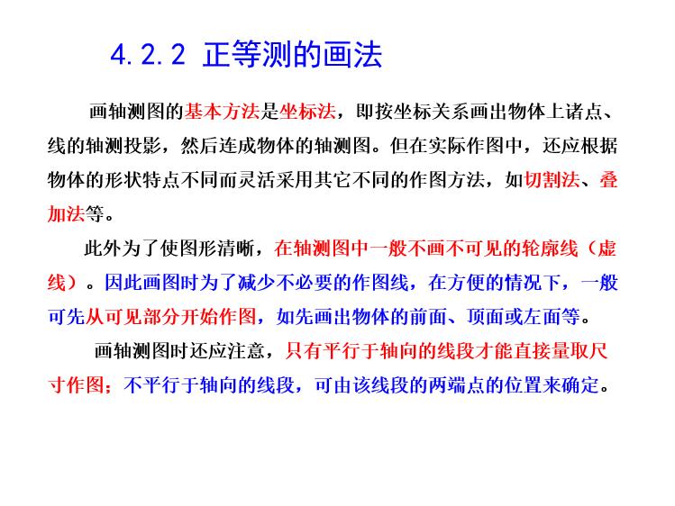 建筑工程制图与识图-轴测图_6