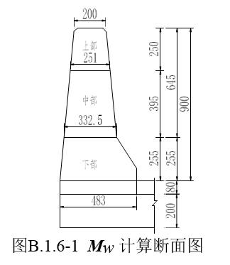 桥梁护栏计算:防护等级为SB混凝土护栏_15