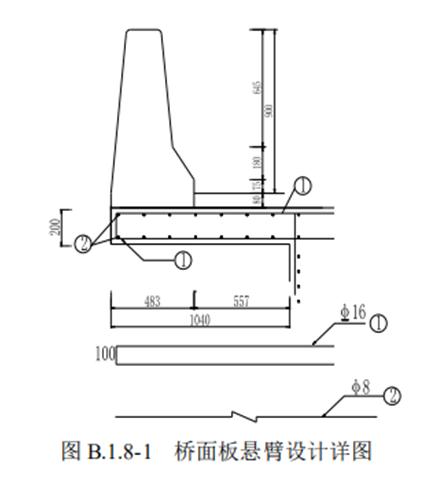 桥梁护栏计算:防护等级为SB混凝土护栏_29