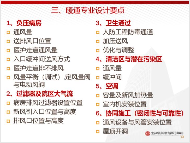 中信总院武汉火神山医院暖通设计与总结2020_7