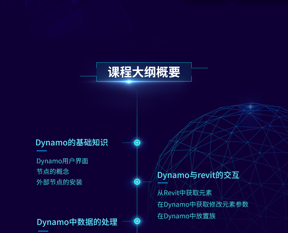 Dynamo入门到精通:Dynamo基础知识、与Revit进行交互、数据处理、布置管线预留洞、拆分管线、布置管线支架,一门课程全搞定!