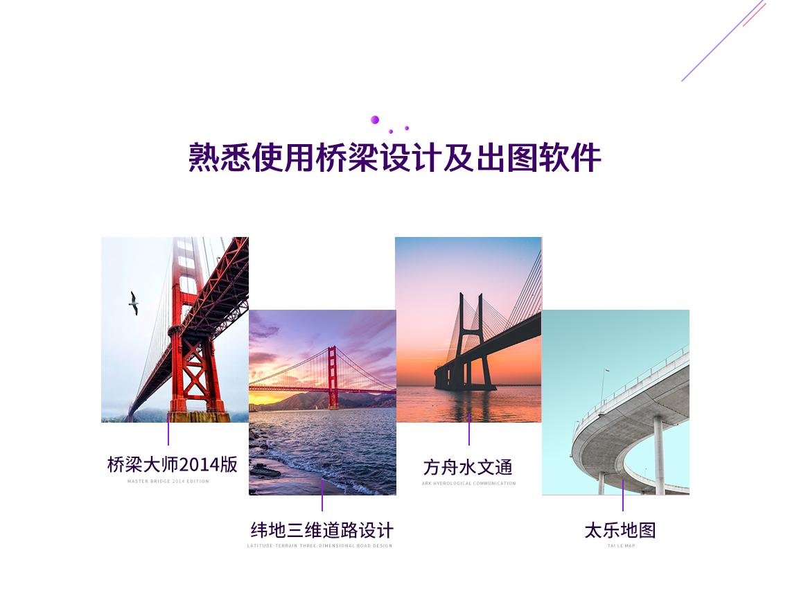 课程对设计院空心板类小桥项目设计进行了全过程设计展示。