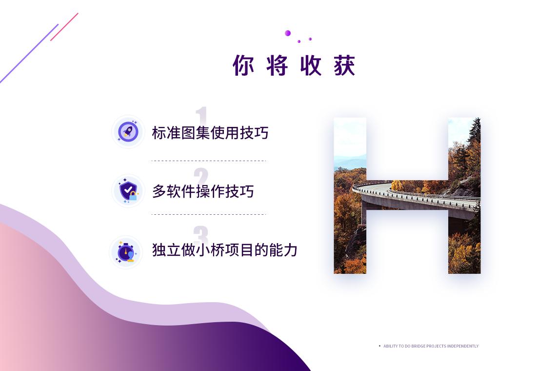 0基础桥梁设计培训全过程实操(桥梁大师)