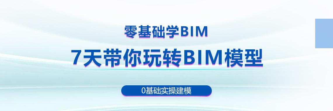 零基础学BIM。7天带你玩转BIM模型。零基础实操建模。BIM微训练营教你revit建小别墅模型。bim技术应用