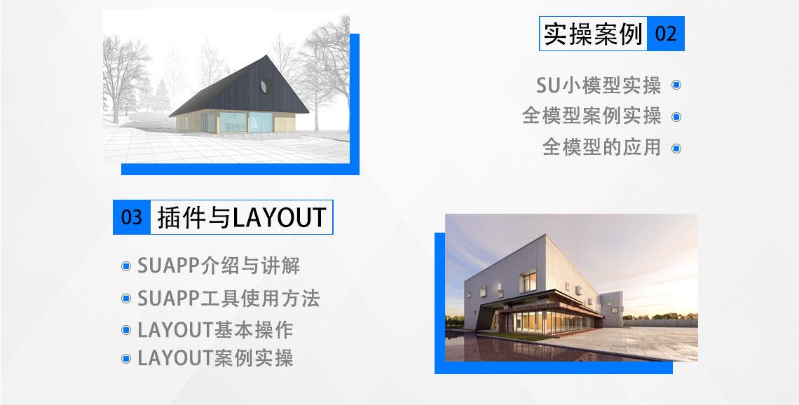 SU建模案例解析,以复旦大学艺术馆为例,解决SU建模问题