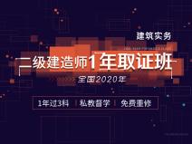 【预售】2020二建协议保障班(sbf123胜博发娱乐实务)