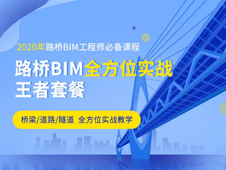 路桥BIM全方位实战王者套餐