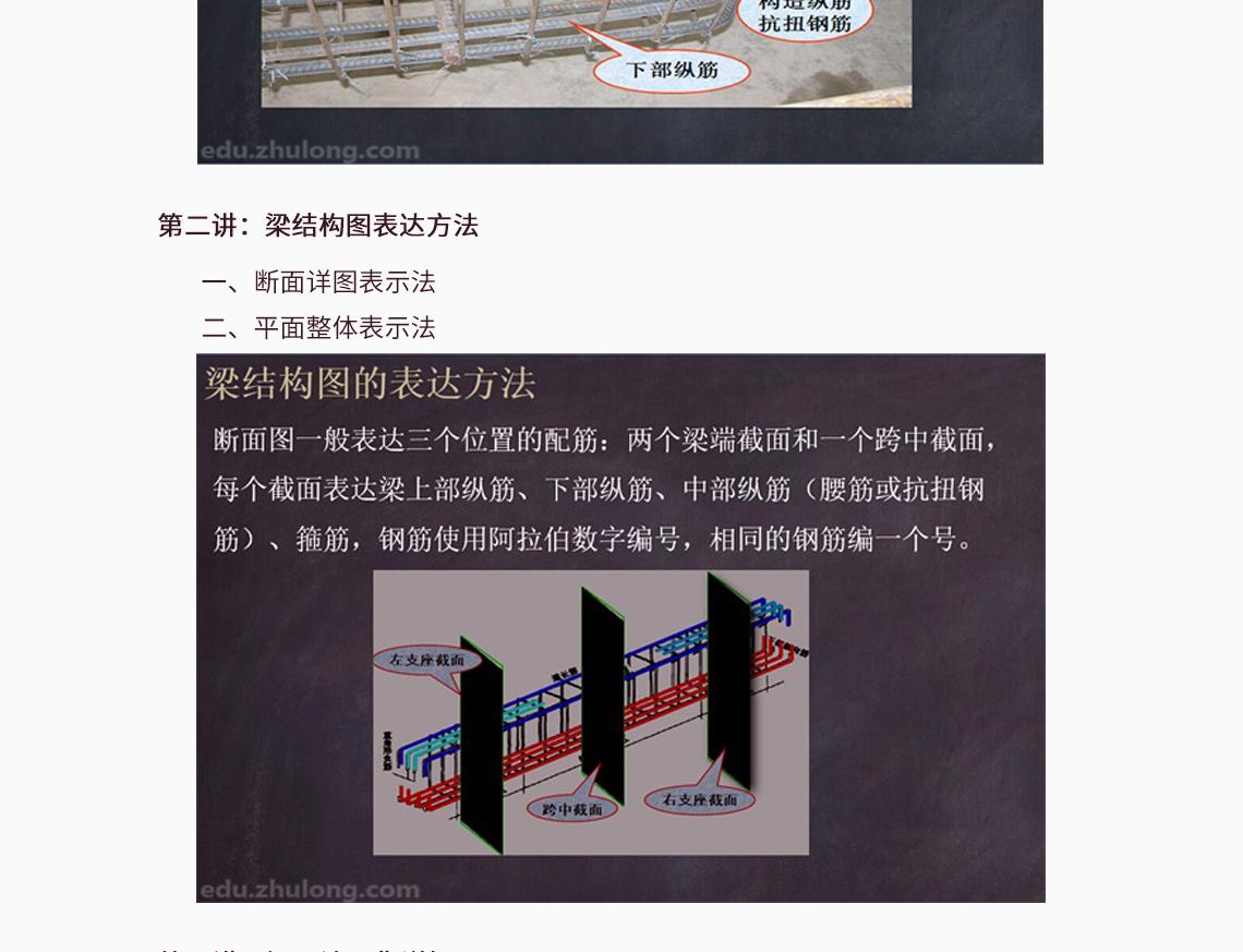 梁构件钢筋量手算,钢筋工程梁设置,梁结构图集详解  讲:梁图纸内容解释 一、混凝土强度 二、截面尺寸 三、梁的标高 四、钢筋部位解释