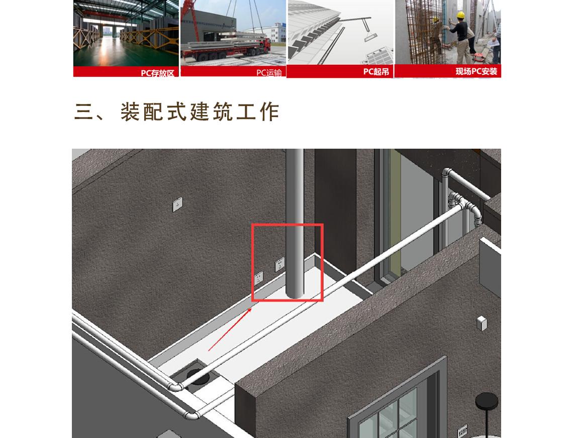 装配式建筑电气设计与应用主要讲解装配式的建筑,装配式建筑电气,BIM机电管线预埋3
