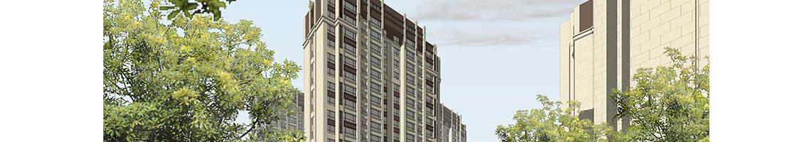 建筑立面设计,SU方案建模,计算机辅助设计构建深化,决定建筑立面设计的深度。