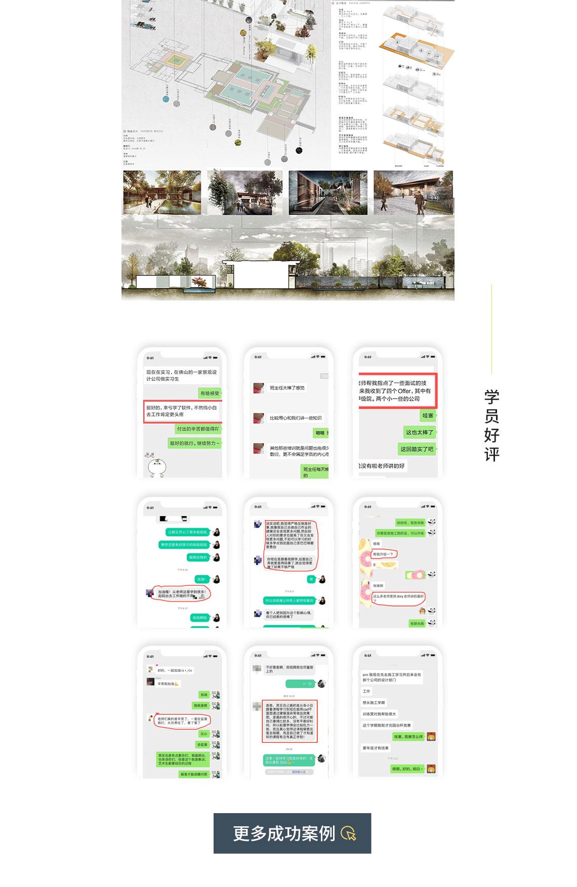 景观设计教程学员作品展示,学员亲述,学习完后就找到工作,因为会软件工资上涨2000元,景观设计软件培训,常用设计软件培训,景观设计教程,景观效果图软件教程
