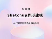 SketchUp异形建模【公开课】