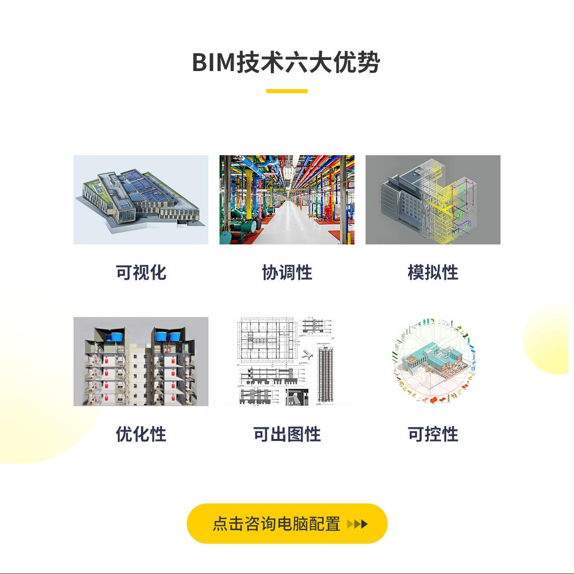 BIM技术具有可视化、协调性、模拟性、优化性、可出图性、可控性等特点,参加BIM等级考试取得证书,课获取额外的经济收入。