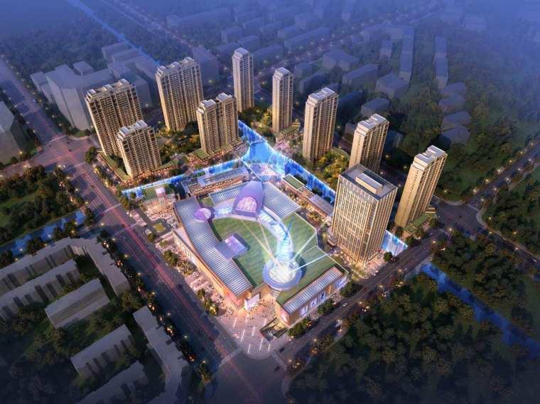 [浙江]温州平阳·银泰城商业综合体建筑模型设计(2018年)