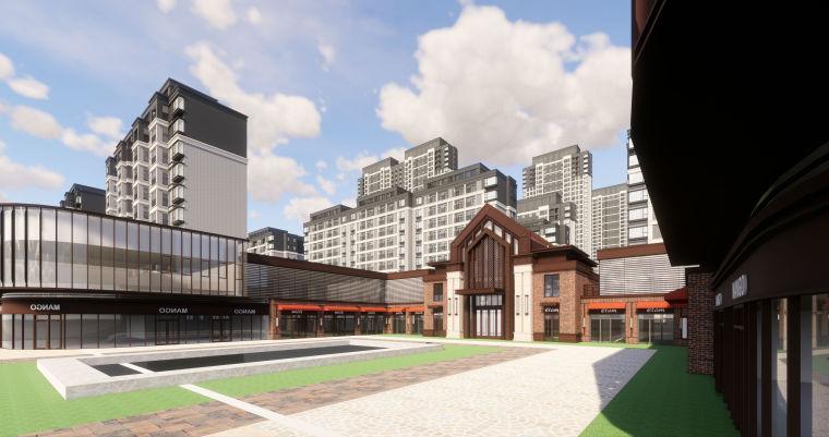 [江西]南昌知名地产金域国际居住区项目建筑模型(JHD建筑)-W 20