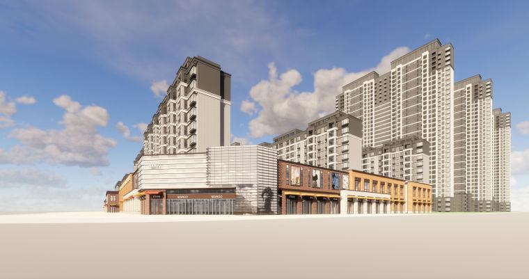 [江西]南昌知名地产金域国际居住区项目建筑模型(JHD建筑)-W 16