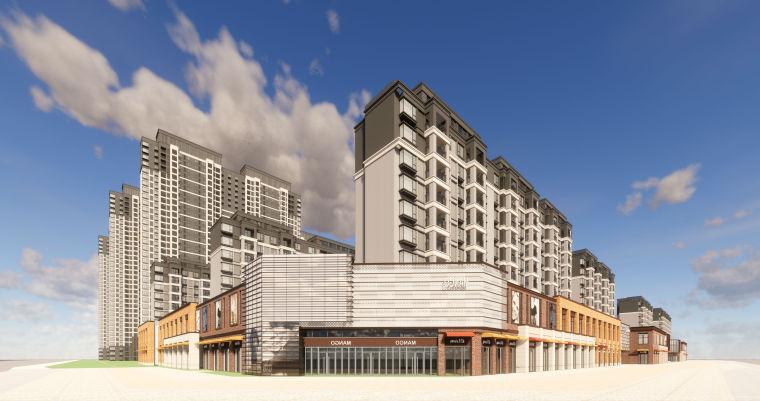 [江西]南昌知名地产金域国际居住区项目建筑模型(JHD建筑)-W 13