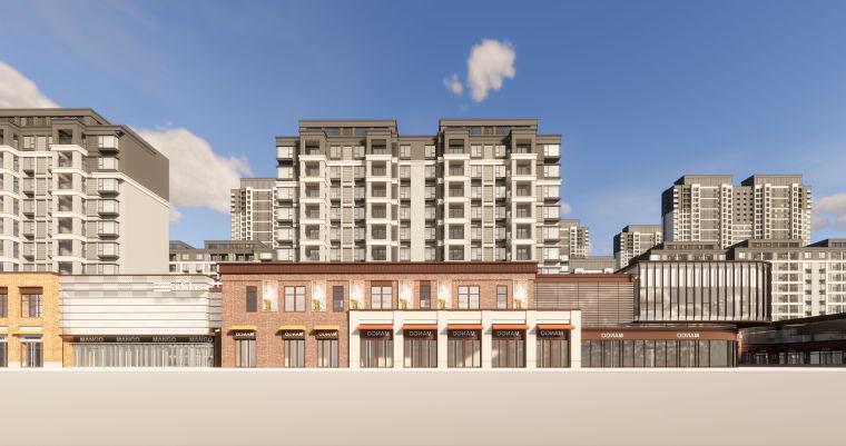 [江西]南昌知名地产金域国际居住区项目建筑模型(JHD建筑)-W 19