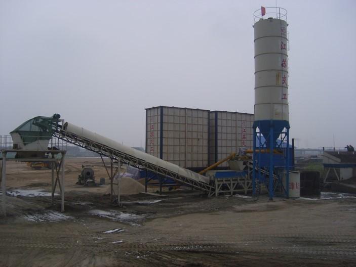EPS颗粒混合轻质路基施工工法