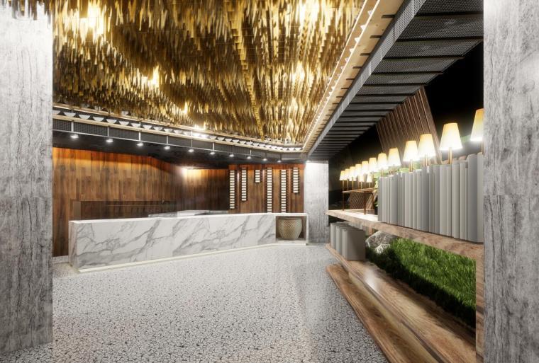 现代风格时尚火锅餐厅室内设计(2018年)