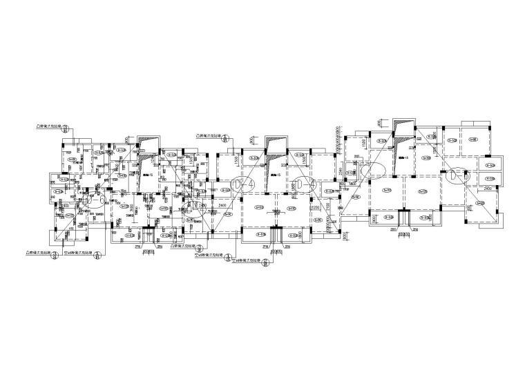 6层钢混框架结构住宅楼结构施工图(2012)