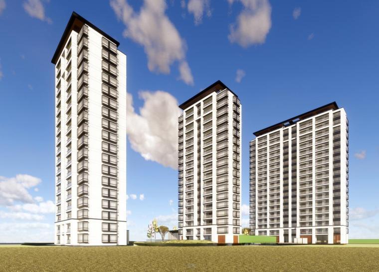 [浙江]景瑞·天赋 杭州钱江世纪城项目示范区建筑模型设计(2018年)