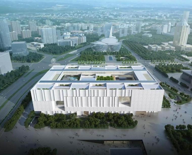 [上海]博物馆东馆建筑模型设计(2018年)