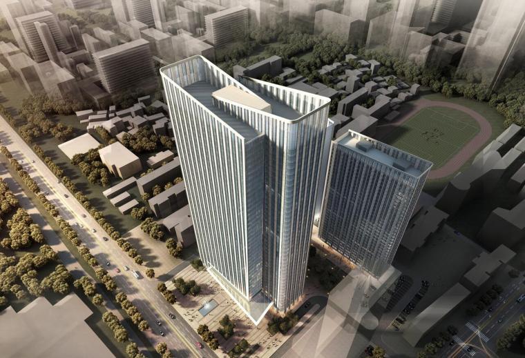 [广东]广州保利K24商业办公楼建筑模型设计(JPG+58页)