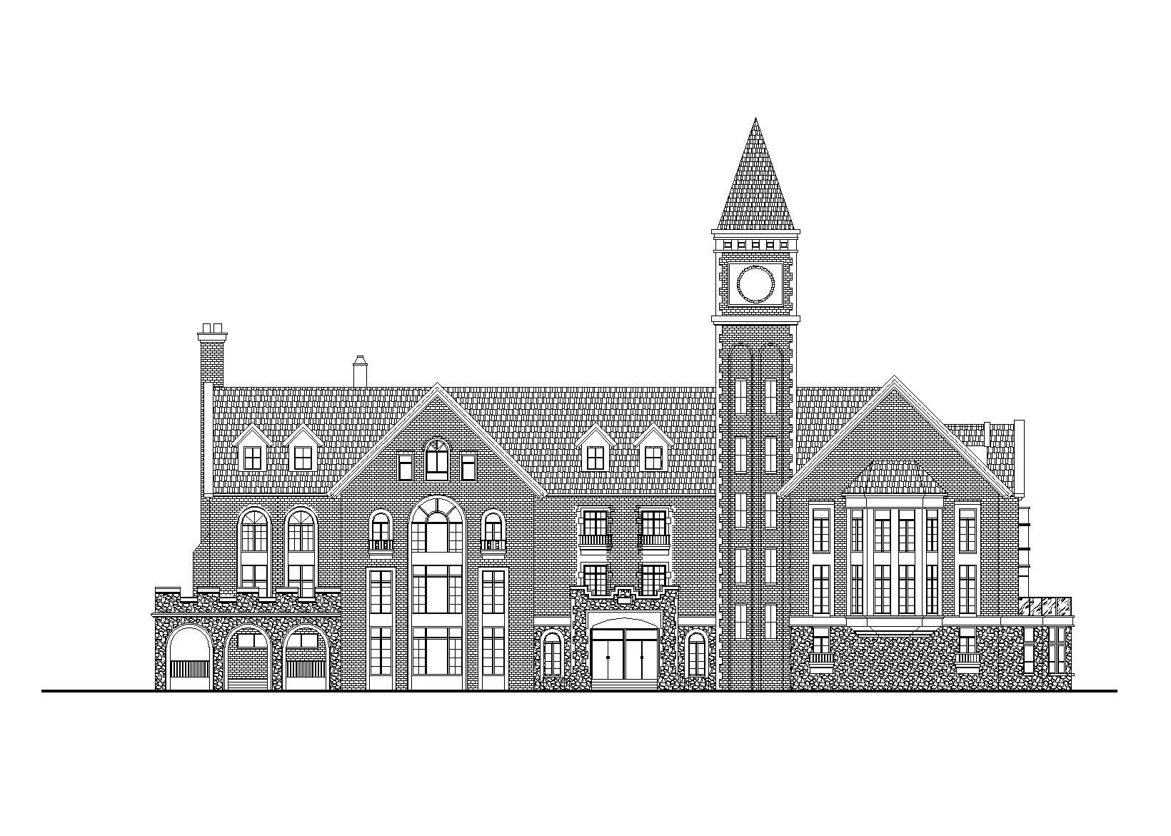 [湖北]武汉合嘉幼儿园建筑施工图(CAD+效果图)