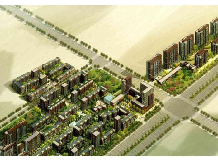 [河南]郑州某住宅区规划建筑方案设计文本