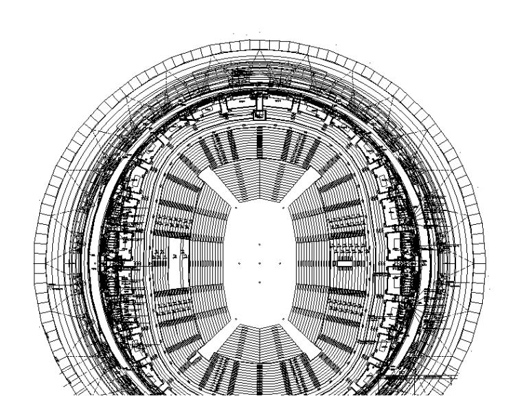 体育馆四层以上深化图(电气)